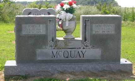 MCQUAY, LOU ELMA - Lawrence County, Arkansas | LOU ELMA MCQUAY - Arkansas Gravestone Photos