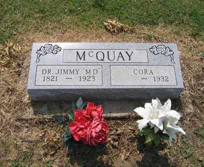 MCQUAY, MD, JIMMY - Lawrence County, Arkansas | JIMMY MCQUAY, MD - Arkansas Gravestone Photos
