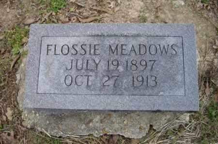 MEADOWS, FLOSSIE - Lawrence County, Arkansas | FLOSSIE MEADOWS - Arkansas Gravestone Photos