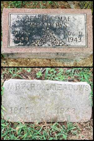 SMELSER MEADOWS, DELPHIA - Lawrence County, Arkansas   DELPHIA SMELSER MEADOWS - Arkansas Gravestone Photos