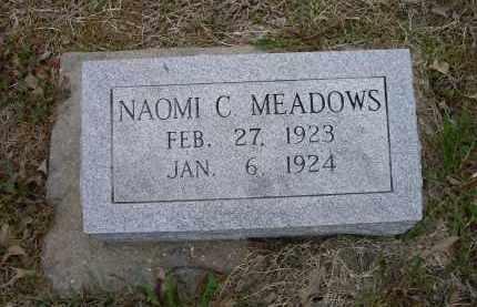 MEADOWS, NAOMI C. - Lawrence County, Arkansas | NAOMI C. MEADOWS - Arkansas Gravestone Photos