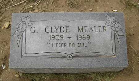 MEALER, GEORGE CLYDE - Lawrence County, Arkansas   GEORGE CLYDE MEALER - Arkansas Gravestone Photos