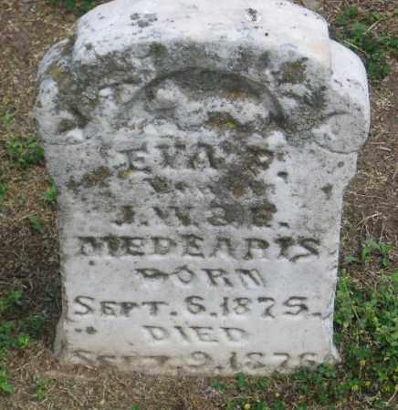 MEDEARIS, EVA - Lawrence County, Arkansas | EVA MEDEARIS - Arkansas Gravestone Photos