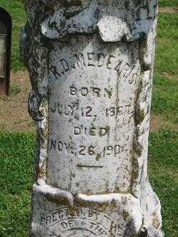 MEDEARIS, ROBERT DUDLEY (CLOSE  UP) - Lawrence County, Arkansas | ROBERT DUDLEY (CLOSE  UP) MEDEARIS - Arkansas Gravestone Photos