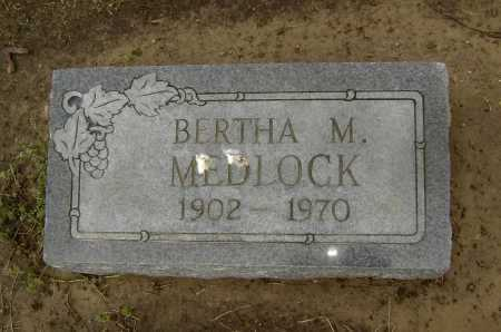 MEDLOCK, BERTHA MAE - Lawrence County, Arkansas   BERTHA MAE MEDLOCK - Arkansas Gravestone Photos