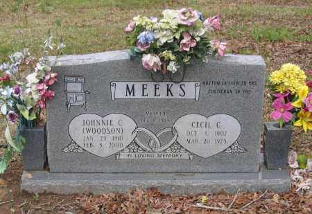 MEEKS, CECIL CURTIS - Lawrence County, Arkansas | CECIL CURTIS MEEKS - Arkansas Gravestone Photos