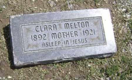 MELTON, CLARA - Lawrence County, Arkansas | CLARA MELTON - Arkansas Gravestone Photos