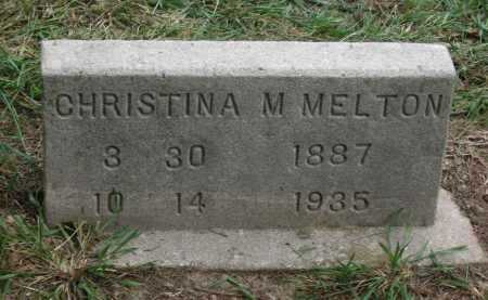 LOHR MELTON, CHRISTINA MARIE - Lawrence County, Arkansas | CHRISTINA MARIE LOHR MELTON - Arkansas Gravestone Photos
