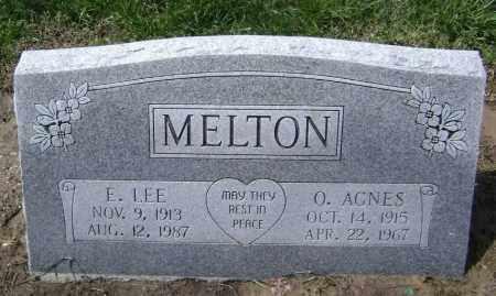 MELTON, E. LEE - Lawrence County, Arkansas | E. LEE MELTON - Arkansas Gravestone Photos