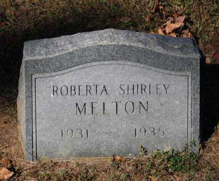 MELTON, ROBERTA SHIRLEY - Lawrence County, Arkansas | ROBERTA SHIRLEY MELTON - Arkansas Gravestone Photos