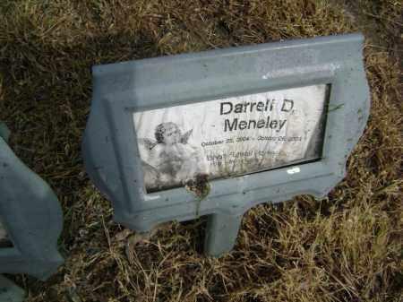 MENELEY, DARRELL D. - Lawrence County, Arkansas | DARRELL D. MENELEY - Arkansas Gravestone Photos