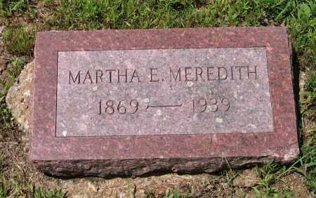 MEREDITH, MARTHA E. - Lawrence County, Arkansas   MARTHA E. MEREDITH - Arkansas Gravestone Photos