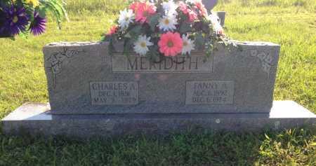MERIDITH, FANNY A. - Lawrence County, Arkansas   FANNY A. MERIDITH - Arkansas Gravestone Photos