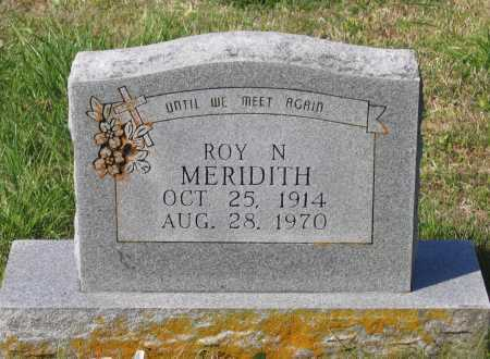 MERIDITH, ROY NEWT - Lawrence County, Arkansas | ROY NEWT MERIDITH - Arkansas Gravestone Photos
