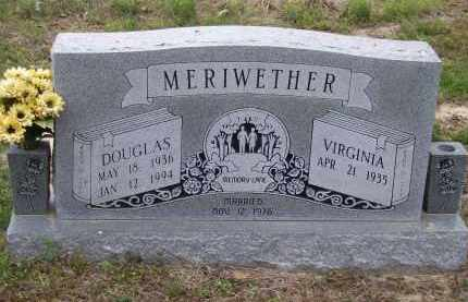 MERIWETHER, DOUGLAS - Lawrence County, Arkansas | DOUGLAS MERIWETHER - Arkansas Gravestone Photos