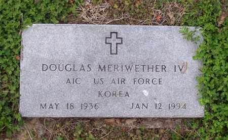 MERIWETHER IV (VETERAN KOR), DOUGLAS - Lawrence County, Arkansas | DOUGLAS MERIWETHER IV (VETERAN KOR) - Arkansas Gravestone Photos