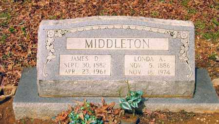 MIDDLETON, JAMES DABNER - Lawrence County, Arkansas | JAMES DABNER MIDDLETON - Arkansas Gravestone Photos