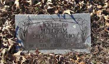 MILGRIM, JEWELL F. - Lawrence County, Arkansas   JEWELL F. MILGRIM - Arkansas Gravestone Photos