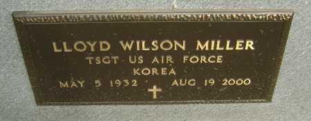MILLER  (VETERAN KOR), LLOYD WILSON - Lawrence County, Arkansas   LLOYD WILSON MILLER  (VETERAN KOR) - Arkansas Gravestone Photos