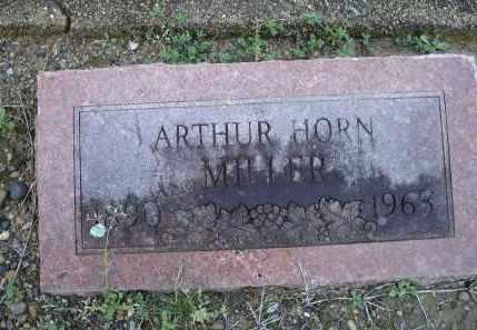MILLER, ARTHUR HORN - Lawrence County, Arkansas | ARTHUR HORN MILLER - Arkansas Gravestone Photos