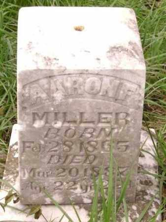MILLER, AARON F. - Lawrence County, Arkansas | AARON F. MILLER - Arkansas Gravestone Photos