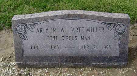 "MILLER, ARTHUR W. ""ART"" - Lawrence County, Arkansas | ARTHUR W. ""ART"" MILLER - Arkansas Gravestone Photos"
