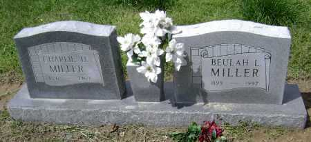 """MILLER, CHARLES DAVID """"CHARLIE"""" - Lawrence County, Arkansas 