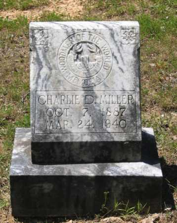 "MILLER, CHARLES DOUGLAS ""CHARLIE D."" - Lawrence County, Arkansas | CHARLES DOUGLAS ""CHARLIE D."" MILLER - Arkansas Gravestone Photos"