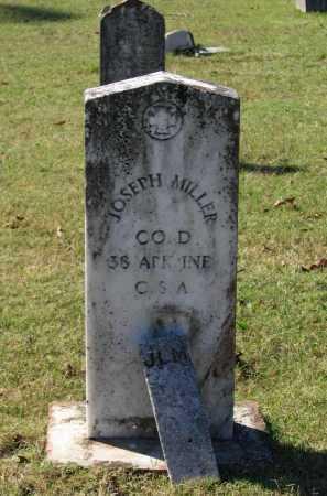 MILLER (VETERAN CSA), JOSEPH EDWARD - Lawrence County, Arkansas | JOSEPH EDWARD MILLER (VETERAN CSA) - Arkansas Gravestone Photos