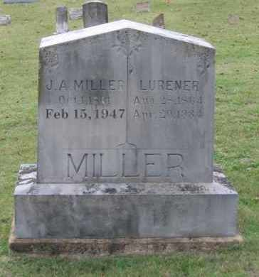 HELMS MILLER, SINA LURENER - Lawrence County, Arkansas | SINA LURENER HELMS MILLER - Arkansas Gravestone Photos
