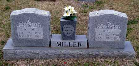 "MILLER, JOSEPH EMERSON ""DOC"" - Lawrence County, Arkansas 