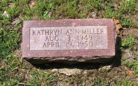 MILLER, KATHRYN ANN - Lawrence County, Arkansas   KATHRYN ANN MILLER - Arkansas Gravestone Photos