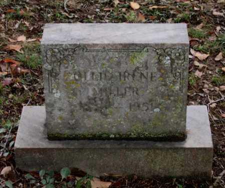 MILLER, OLLIE IRENE - Lawrence County, Arkansas | OLLIE IRENE MILLER - Arkansas Gravestone Photos