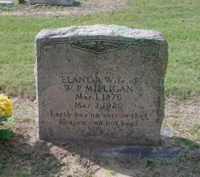 MILLIGAN, ELANOR - Lawrence County, Arkansas   ELANOR MILLIGAN - Arkansas Gravestone Photos