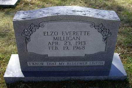 MILLIGAN, ELZO EVERETT - Lawrence County, Arkansas | ELZO EVERETT MILLIGAN - Arkansas Gravestone Photos