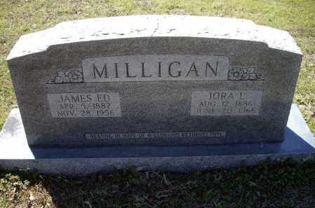 MILLIGAN, JAMES EDWARD - Lawrence County, Arkansas | JAMES EDWARD MILLIGAN - Arkansas Gravestone Photos