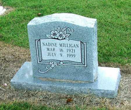 WRIGHT MILLIGAN, NADINE HANNAH - Lawrence County, Arkansas | NADINE HANNAH WRIGHT MILLIGAN - Arkansas Gravestone Photos