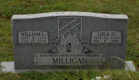 MILLIGAN, WILLIAM LEE - Lawrence County, Arkansas | WILLIAM LEE MILLIGAN - Arkansas Gravestone Photos