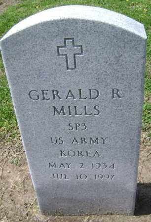 MILLS  (VETERAN KOR), GERALD R. - Lawrence County, Arkansas | GERALD R. MILLS  (VETERAN KOR) - Arkansas Gravestone Photos