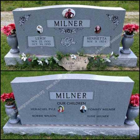 MILNER, LEROY - Lawrence County, Arkansas | LEROY MILNER - Arkansas Gravestone Photos