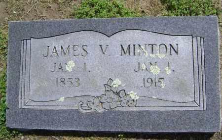 MINTON, JAMES V. - Lawrence County, Arkansas   JAMES V. MINTON - Arkansas Gravestone Photos