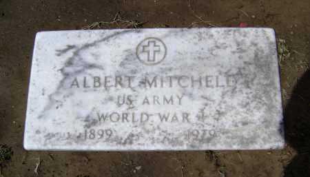 MITCHELL  (VETERAN WWI), ALBERT - Lawrence County, Arkansas | ALBERT MITCHELL  (VETERAN WWI) - Arkansas Gravestone Photos