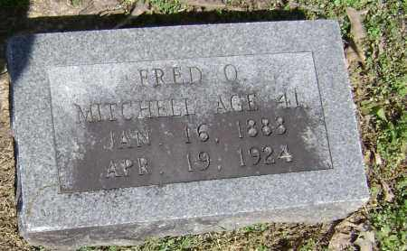 MITCHELL, FRED O. - Lawrence County, Arkansas   FRED O. MITCHELL - Arkansas Gravestone Photos
