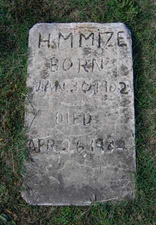 MIZE, HENRY M. - Lawrence County, Arkansas   HENRY M. MIZE - Arkansas Gravestone Photos