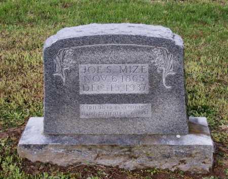 "MIZE, JOSEPH SHELBY ""JOE S."" - Lawrence County, Arkansas   JOSEPH SHELBY ""JOE S."" MIZE - Arkansas Gravestone Photos"