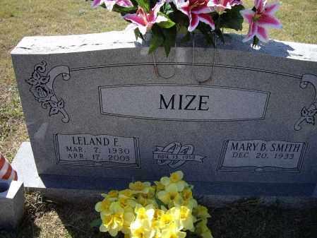 MIZE, LELAND EDWARD - Lawrence County, Arkansas | LELAND EDWARD MIZE - Arkansas Gravestone Photos