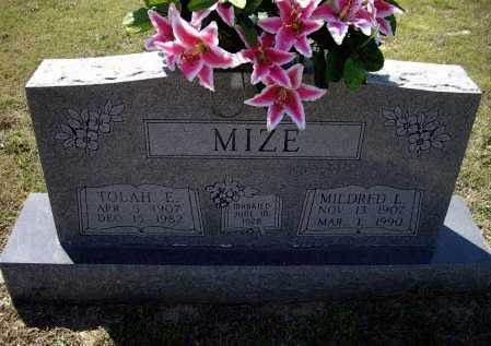 MIZE, MILDRED LORENE - Lawrence County, Arkansas | MILDRED LORENE MIZE - Arkansas Gravestone Photos