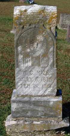 "MIZE, WILLIAM CIMSEY ""W. C."" - Lawrence County, Arkansas | WILLIAM CIMSEY ""W. C."" MIZE - Arkansas Gravestone Photos"