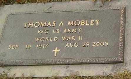 MOBLEY  (VETERAN WWII), THOMAS ARTIS - Lawrence County, Arkansas   THOMAS ARTIS MOBLEY  (VETERAN WWII) - Arkansas Gravestone Photos