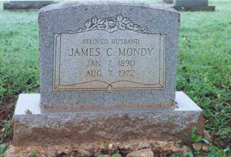 MONDY, JAMES CLARENCE - Lawrence County, Arkansas | JAMES CLARENCE MONDY - Arkansas Gravestone Photos